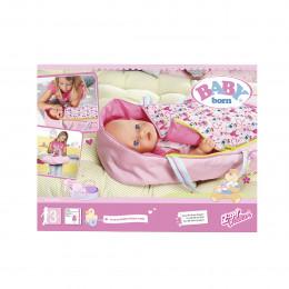 Люлька-переноска для куклы BABY BORN 2 в 1 - ЯРКИЕ СНЫ, 824429