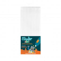 Набор стержней для 3D-ручки 3Doodler Start (белый, 24 шт), 3DS-ECO01-WHITE-24