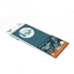 Набор стержней для 3D-ручки 3Doodler Start (бирюзовый, 24 шт), 3DS-ECO20-TTEAL-24