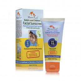 Органический солнцезащитный крем для лица для детей с рождения (SPF-15, 60 мл,IL), 491122