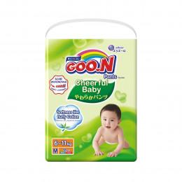Трусики-подгузники CHEERFUL BABY для детей 6-11 кг (размер M, унисекс, 58 шт), 853734