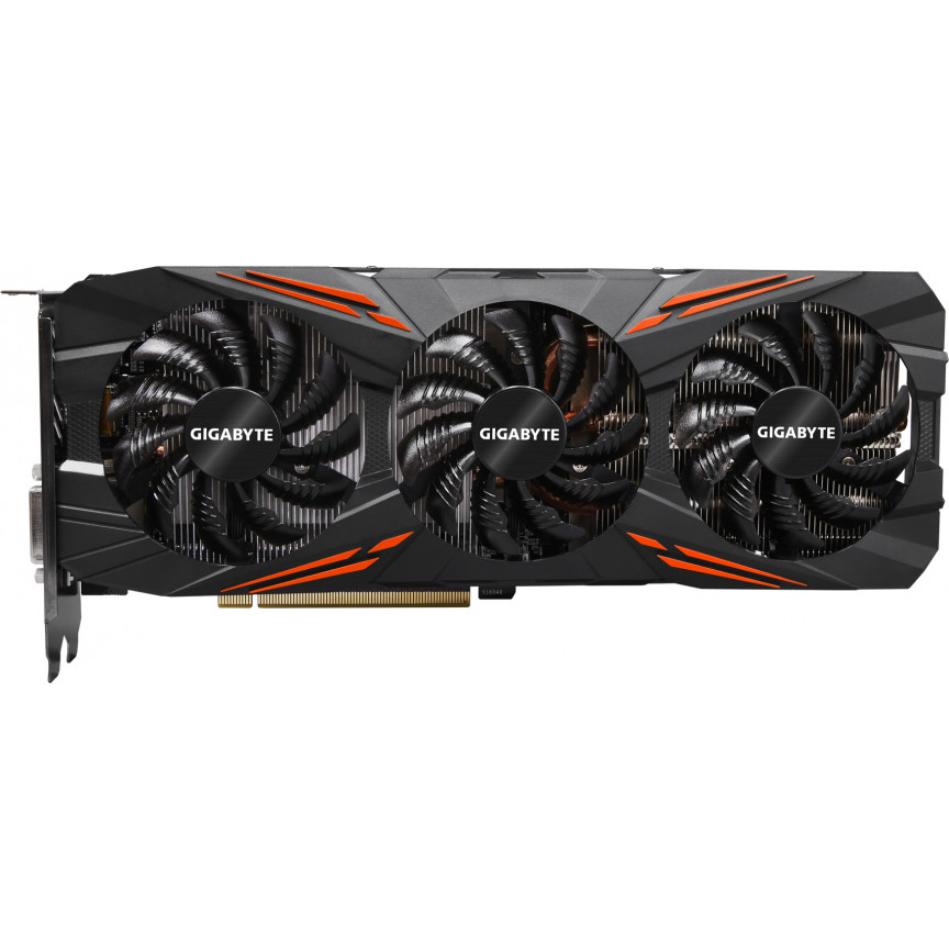 Видеокарта Gigabyte GeForce GTX1070 G1 8Gb 256bit GDDR5 Gaming (GV-N1070G1 GAMING-8GD)