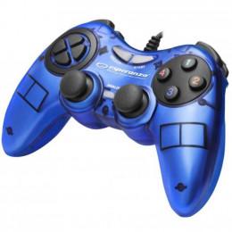 Геймпад Esperanza Fighter PC Blue (EGG105B) фото 1