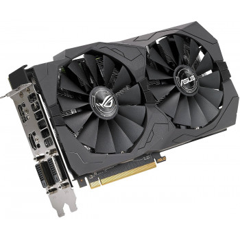 Видеокарта ASUS Radeon RX 570 ROG Strix 4Gb (STRIX-RX570-O4G-GAMING)