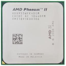 Процессор AMD Phenom II X4 955 (HDX955WFK4DGM)