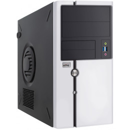 Компьютер Korob Intel Tower 108 (i7-4770/16/240SSD/GTX1070-8Gb)