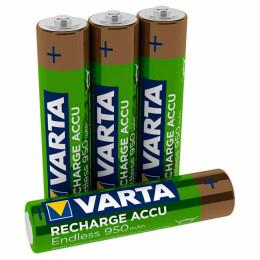 Аккумулятор Varta AAA Rechargeable Accu Endless 950mAh * 4 (56683101404) фото 2