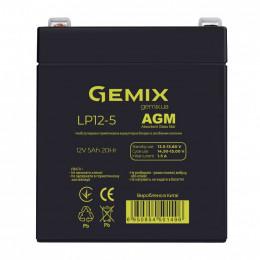 Батарея к ИБП Gemix 12В 5Ач (LP12-5) фото 1
