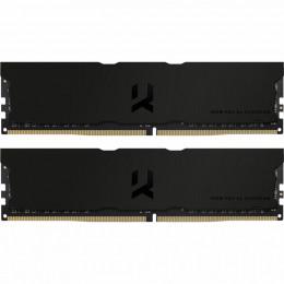 Модуль памяти для компьютера DDR4 16GB (2x8GB) 3600 MHz Iridium Pro Deep Black Goodram (IRP-K3600D4V фото 1