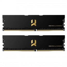 Модуль памяти для компьютера DDR4 16GB (2x8GB) 4000 MHz IRDM PRO Black Goodram (IRP-4000D4V64L18S/16 фото 1
