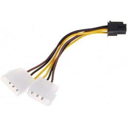 Переходник (адаптер) Molex to 6-pin Video