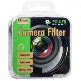 Светофильтр PowerPlant CPL 55 мм (CPLF55) фото 1