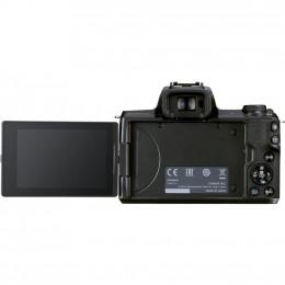 Цифровой фотоаппарат Canon EOS M50 Mk2 + 15-45 IS STM Kit Black (4728C043) фото 2