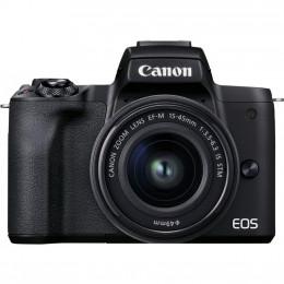 Цифровой фотоаппарат Canon EOS M50 Mk2 + 15-45 IS STM Lifestream Kit Black (4728C059) фото 2