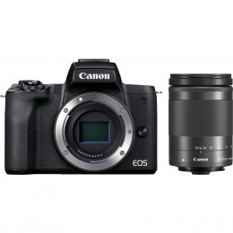 Цифровой фотоаппарат Canon EOS M50 Mk2 + 18-150 IS STM Kit Black (4728C044) фото 1