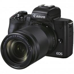 Цифровой фотоаппарат Canon EOS M50 Mk2 + 18-150 IS STM Kit Black (4728C044) фото 2