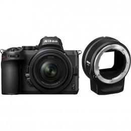 Цифровой фотоаппарат Nikon Z5 + 24-50mm F4-6.3 + FTZ Adapter Kit (VOA040K003) фото 1