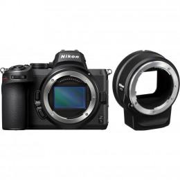 Цифровой фотоаппарат Nikon Z5 + FTZ Adapter Kit (VOA040K002) фото 1