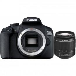 Цифровой фотоаппарат Canon EOS 2000D 18-55 DC III (2728C007AA) фото 1