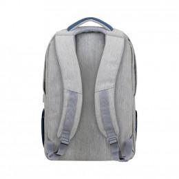 Рюкзак для ноутбука RivaCase 17.3 7567 Prater, Grey / Dark Blue (7567Grey/DarkBlue) фото 1