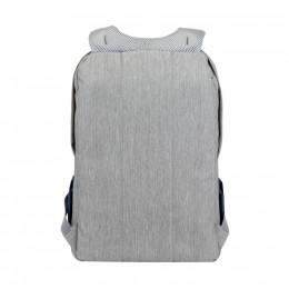 Рюкзак для ноутбука RivaCase 17.3 7567 Prater, Grey / Dark Blue (7567Grey/DarkBlue) фото 2