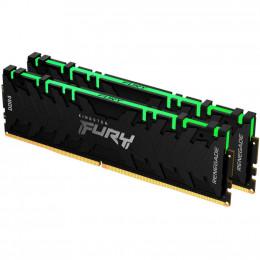 Модуль памяти для компьютера DDR4 16GB (2x8GB) 4266 MHz Renegade RGB Black HyperX (Kingston Fury) (K фото 2