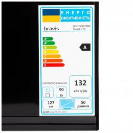 Телевизор Bravis UHD-50H7000 Smart + T2 фото 2