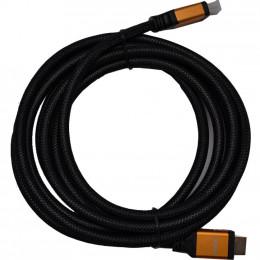 Кабель мультимедийный HDMI to HDMI 1.0m Atcom (13780)