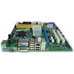 Комплект материнская плата Acer MG43m s775, DDR3 + Xeon X5450