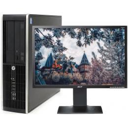 """Комплект Компьютер HP Compaq Pro 6300 SFF (i7-3770/16/500/120SSD) + Монитор 22"""" Acer B223W"""
