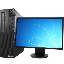 """Комплект Компьютер Lenovo ThinkCentre M72 SFF (i3-2100/4/250) + Монитор 22"""" Samsung 2243BW"""