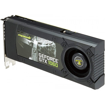 Видеокарта Manli GeForce GTX1060 3072Mb Gallardo 192bit GDDR5 (N438106000)