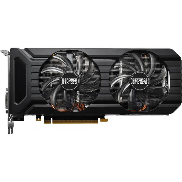 Видеокарта Palit GeForce GTX1070 8Gb 256bit GDDR5 Dual Fan (NE51070015P2D/NE51070015P2-1043D)