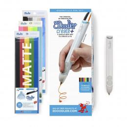3D-ручка 3Doodler Create PLUS  для проф. использования - БЕЛАЯ (75 cтержней, аксессуары), 8CPSWEEU3E